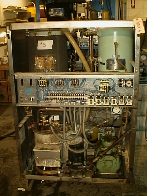 Vogt Tube Ice Machine m1800-m9000 conversion to r22